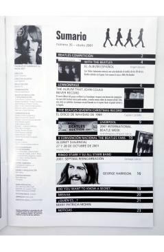 Muestra 1 de REVISTA THE BEATLES' GARDEN 35. OTOÑO 2001 (Vvaa) Sergeant Beatles Fan Club 2001