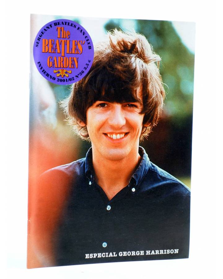 Cubierta de REVISTA THE BEATLES' GARDEN 36. INVIERNO 2001/02 (Vvaa) Sergeant Beatles Fan Club 2001