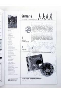 Muestra 1 de REVISTA THE BEATLES' GARDEN 40. INVIERNO 2002/2003 (Vvaa) Sergeant Beatles Fan Club 2002