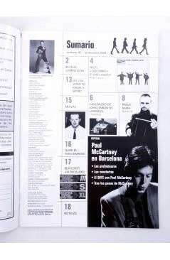 Muestra 1 de REVISTA THE BEATLES' GARDEN 41. PRIMAVERA 2003 (Vvaa) Sergeant Beatles Fan Club 2003