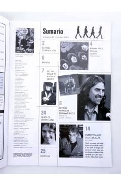 Muestra 1 de REVISTA THE BEATLES' GARDEN 42. VERANO 2003 (Vvaa) Sergeant Beatles Fan Club 2003