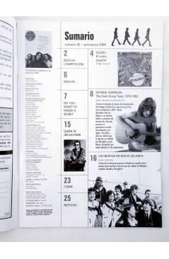 Muestra 1 de REVISTA THE BEATLES' GARDEN 45. PRIMAVERA 2004 (Vvaa) Sergeant Beatles Fan Club 2004