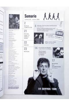 Muestra 1 de REVISTA THE BEATLES' GARDEN 46. VERANO 2004 (Vvaa) Sergeant Beatles Fan Club 2004