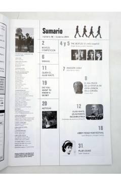 Muestra 1 de REVISTA THE BEATLES' GARDEN 48. INVIERNO 2005 (Vvaa) Sergeant Beatles Fan Club 2004