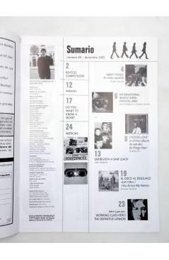 Muestra 1 de REVISTA THE BEATLES' GARDEN 49. DICIEMBRE 2005 (Vvaa) Sergeant Beatles Fan Club 2005