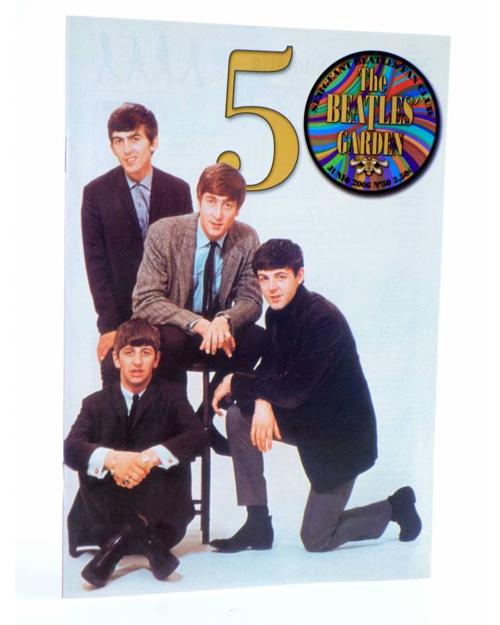 Cubierta de REVISTA THE BEATLES' GARDEN 50. JUNIO 2006 (Vvaa) Sergeant Beatles Fan Club 2006