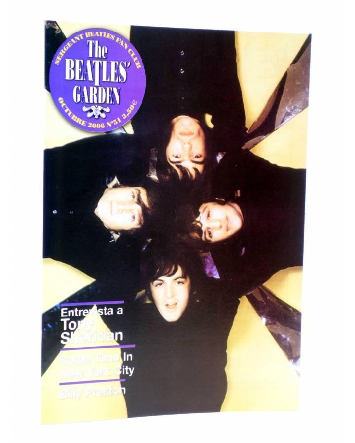 Cubierta de REVISTA THE BEATLES' GARDEN 51. OCTUBRE 2006 (Vvaa) Sergeant Beatles Fan Club 2006