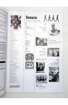 Muestra 1 de REVISTA THE BEATLES' GARDEN 51. OCTUBRE 2006 (Vvaa) Sergeant Beatles Fan Club 2006