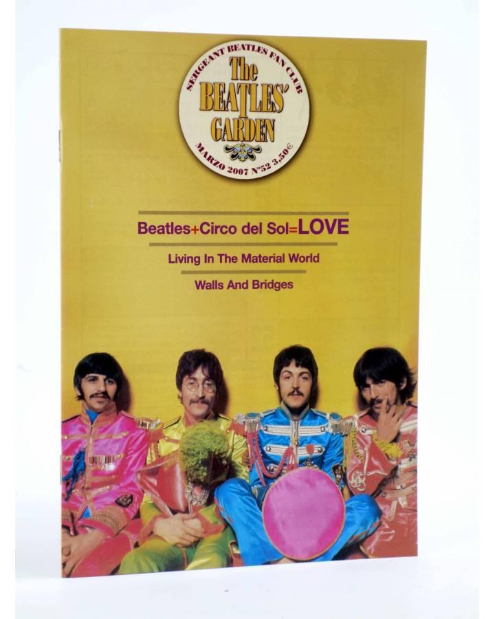 Cubierta de REVISTA THE BEATLES' GARDEN 52. MARZO 2007 (Vvaa) Sergeant Beatles Fan Club 2007