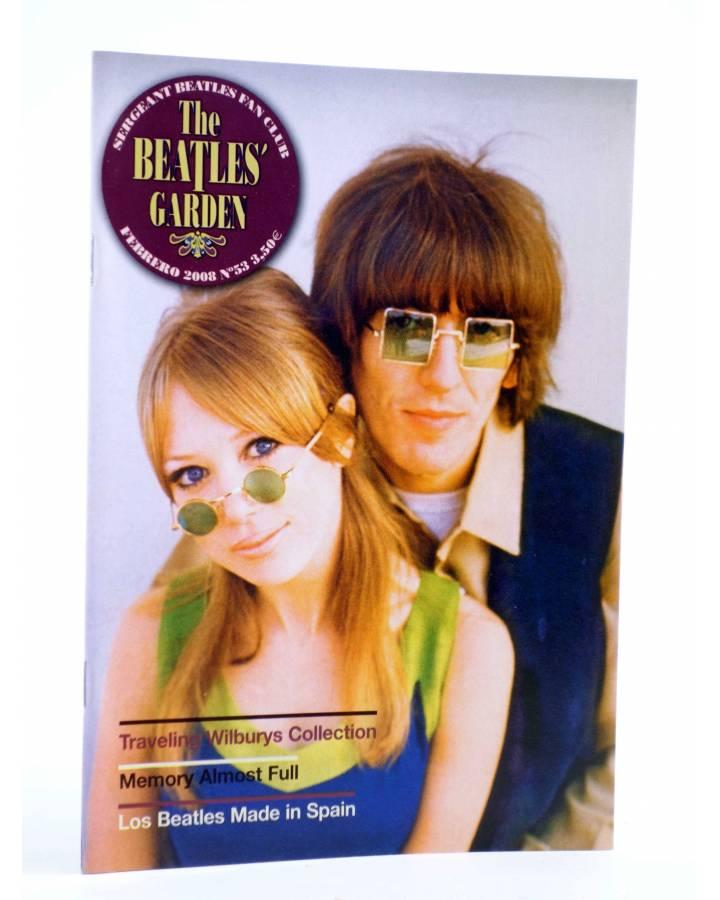 Cubierta de REVISTA THE BEATLES' GARDEN 53. FEBRERO 2008 (Vvaa) Sergeant Beatles Fan Club 2008