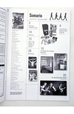 Muestra 1 de REVISTA THE BEATLES' GARDEN 56. DICIEMBRE 2009 (Vvaa) Sergeant Beatles Fan Club 2009