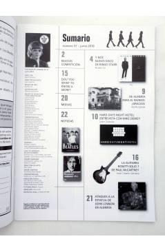 Muestra 1 de REVISTA THE BEATLES' GARDEN 57. JUNIO 2010 (Vvaa) Sergeant Beatles Fan Club 2010