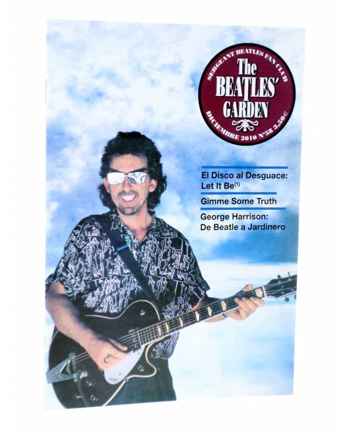 Cubierta de REVISTA THE BEATLES' GARDEN 58. DICIEMBRE 2010 (Vvaa) Sergeant Beatles Fan Club 2010