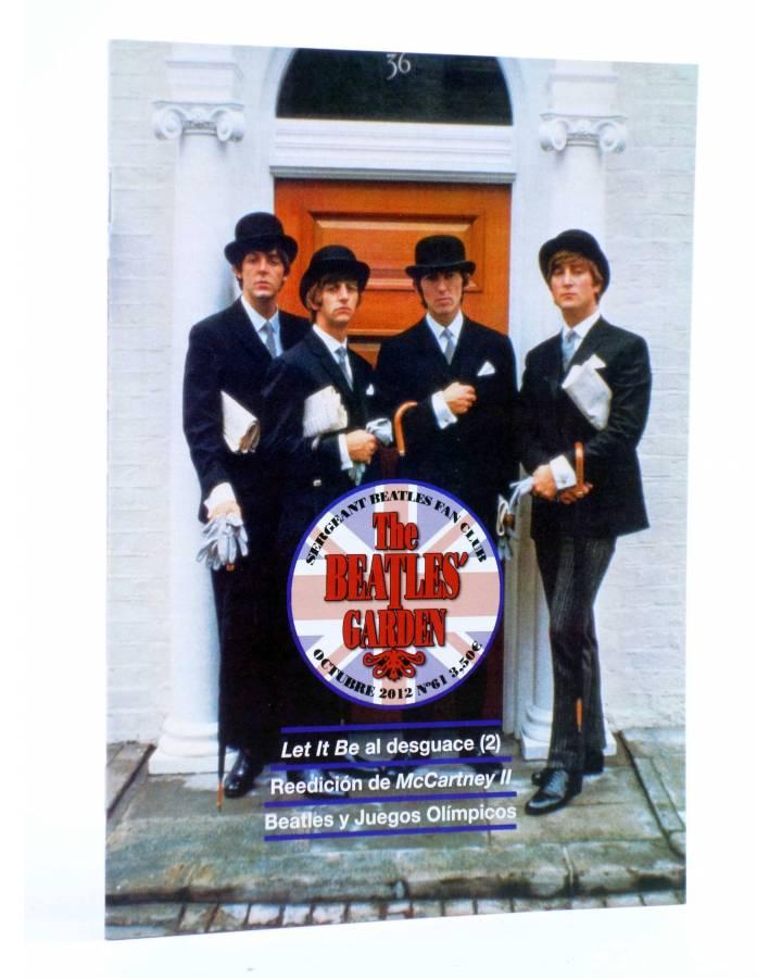 Cubierta de REVISTA THE BEATLES' GARDEN 61. OCTUBRE 2012 (Vvaa) Sergeant Beatles Fan Club 2012