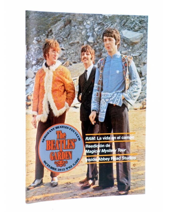 Cubierta de REVISTA THE BEATLES' GARDEN 62. JUNIO 2013 (Vvaa) Sergeant Beatles Fan Club 2013