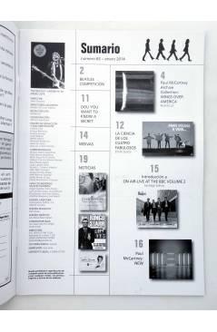 Muestra 1 de REVISTA THE BEATLES' GARDEN 63. ENERO 2014 (Vvaa) Sergeant Beatles Fan Club 2014