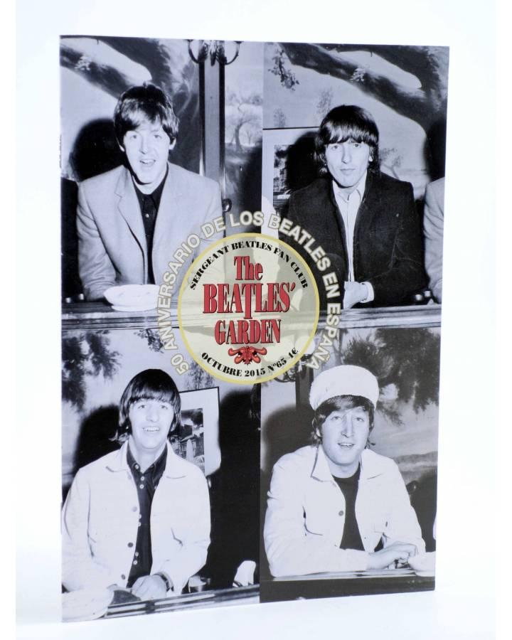 Cubierta de REVISTA THE BEATLES' GARDEN 65. OCTUBRE 2015 (Vvaa) Sergeant Beatles Fan Club 2015