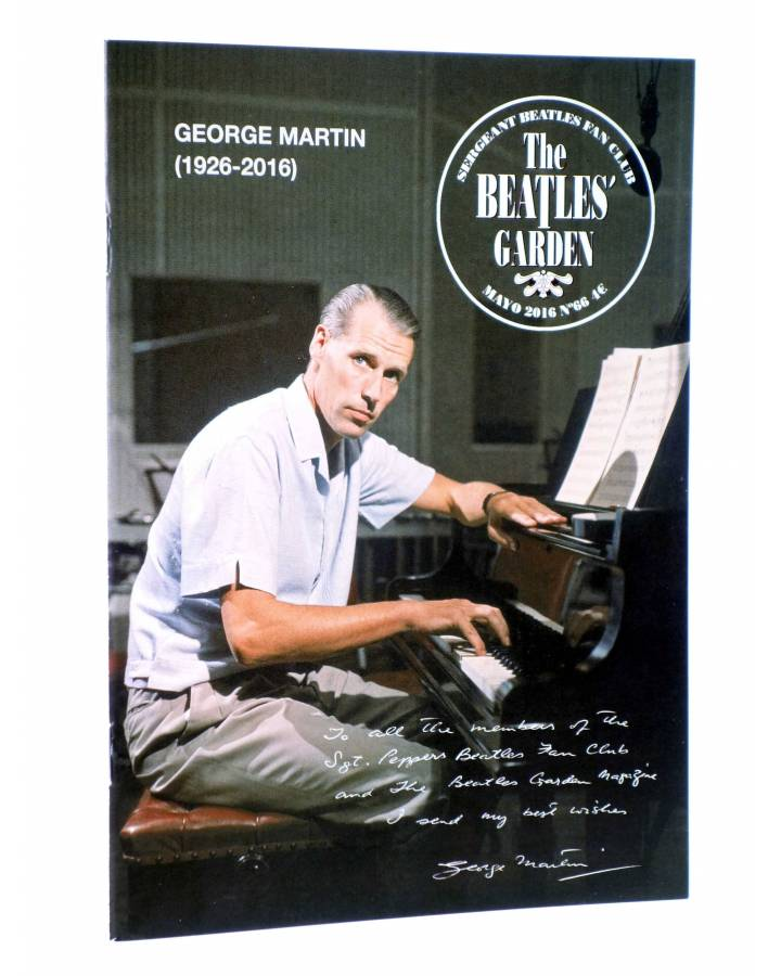 Cubierta de REVISTA THE BEATLES' GARDEN 66. MAYO 2016 (Vvaa) Sergeant Beatles Fan Club 2016