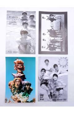 Contracubierta de LOTE DE 20 POSTALES ANUALES DE VERANO. 1994-2013.. Sergeant Beatles Fan Club 1994