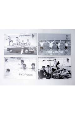 Muestra 5 de LOTE DE 20 POSTALES ANUALES DE VERANO. 1994-2013.. Sergeant Beatles Fan Club 1994