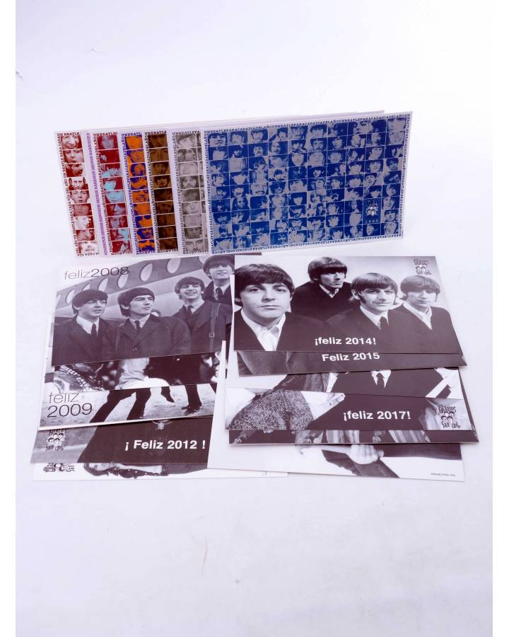 Cubierta de LOTE DE 23 POSTALES ANUALES DE FELIZ AÑO. 1996-2018.. Sergeant Beatles Fan Club 1996
