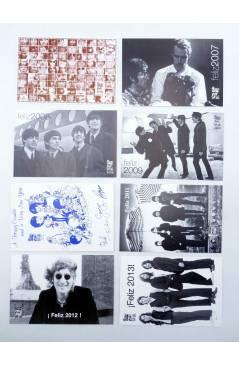 Muestra 1 de LOTE DE 23 POSTALES ANUALES DE FELIZ AÑO. 1996-2018.. Sergeant Beatles Fan Club 1996