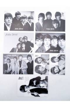 Muestra 2 de LOTE DE 23 POSTALES ANUALES DE FELIZ AÑO. 1996-2018.. Sergeant Beatles Fan Club 1996