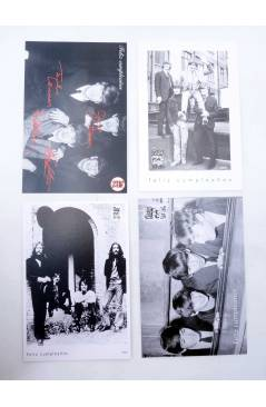 Muestra 1 de LOTE DE 23 POSTALES ANUALES DE FELIZ CUMPLEAÑOS. 1995-2017.. Sergeant Beatles Fan Club 1994