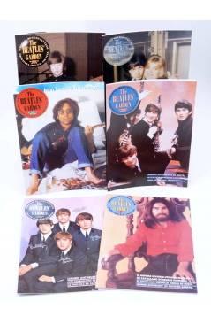 Contracubierta de THE BEATLES' GARDEN 21 A 62 (FALTA Nº 23). 41 NºS. 16 AÑOS. Sergeant Beatles Fan Club 2016