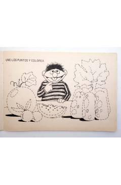 Muestra 1 de BLOQUE COLOR. CTW ÁBRETE SESAMO BARRIO SESAMO. Ediprint 1976. Pasatiempos actividades. VERDE