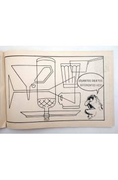 Muestra 3 de BLOQUE COLOR. CTW ÁBRETE SESAMO BARRIO SESAMO. Ediprint 1976. Pasatiempos actividades. ROJO