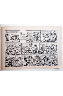 Muestra 2 de EL ESPADACHIN ENMASCARADO 2ª EDICIÓN 16. EL CASTIGO DE UN MALVADO (Quesada / Gago) Valenciana 1981