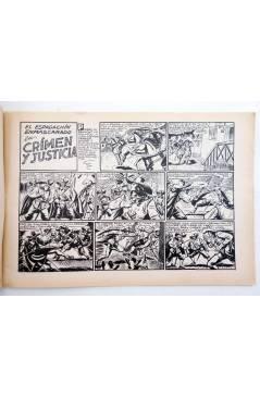 Muestra 1 de EL ESPADACHIN ENMASCARADO 2ª EDICIÓN 19. CRIMEN Y JUSTICIA (Quesada / Gago) Valenciana 1981