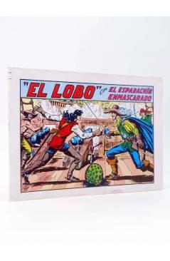 Cubierta de EL ESPADACHIN ENMASCARADO 2ª EDICIÓN 20. EL LOBO (Quesada / Gago) Valenciana 1981