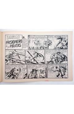 Muestra 3 de EL ESPADACHIN ENMASCARADO 2ª EDICIÓN 21. EMPRESA DE TITÁN (Quesada / Gago) Valenciana 1981