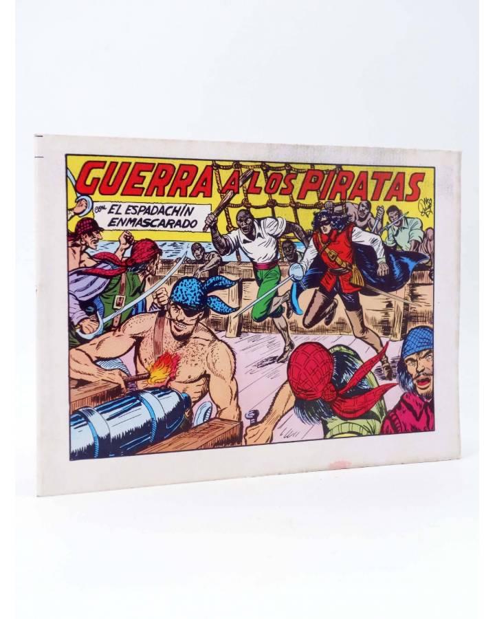 Cubierta de EL ESPADACHIN ENMASCARADO 2ª EDICIÓN 22. GUERRA A LOS PIRATAS (Quesada / Gago) Valenciana 1981