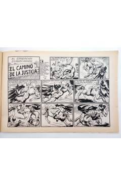 Muestra 3 de EL ESPADACHIN ENMASCARADO 2ª EDICIÓN 25. INFIERNO EN EL MAR (Quesada / Gago) Valenciana 1981