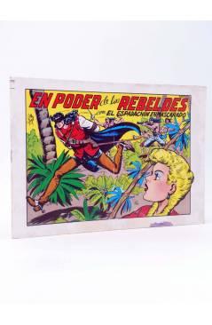 Cubierta de EL ESPADACHIN ENMASCARADO 2ª EDICIÓN 29. EN PODER DE LOS REBELDES (Quesada / Gago) Valenciana 1981