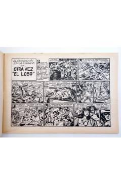 Muestra 1 de EL ESPADACHIN ENMASCARADO 2ª EDICIÓN 31. OTRA VEZ EL LOBO (Quesada / Gago) Valenciana 1981