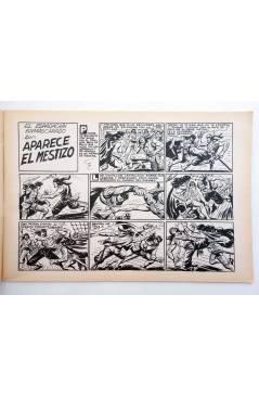 Muestra 1 de EL ESPADACHIN ENMASCARADO 2ª EDICIÓN 37. APARECE EL MESTIZO (Quesada / Gago) Valenciana 1982