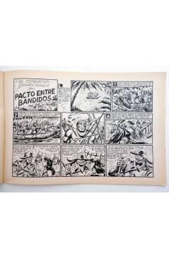 Muestra 2 de EL ESPADACHIN ENMASCARADO 2ª EDICIÓN 37. APARECE EL MESTIZO (Quesada / Gago) Valenciana 1982