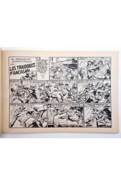 Muestra 2 de EL ESPADACHIN ENMASCARADO 2ª EDICIÓN 45. EN LA GUARIDA DEL TUERTO (Quesada / Gago) Valenciana 1982