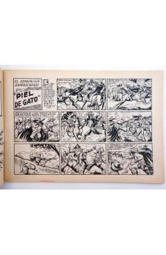 Muestra 1 de EL ESPADACHIN ENMASCARADO 2ª EDICIÓN 68. PIEL DE GATO (Quesada / Gago) Valenciana 1982