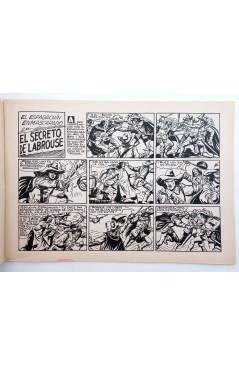 Muestra 2 de EL ESPADACHIN ENMASCARADO 2ª EDICIÓN 68. PIEL DE GATO (Quesada / Gago) Valenciana 1982