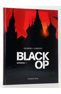 Cubierta de BLACK OP INTEGRAL 1 (Desberg / Labiano) Ponent Mon 2017