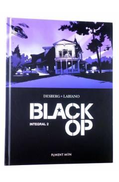 Cubierta de BLACK OP INTEGRAL 2 (Desberg / Labiano) Ponent Mon 2017