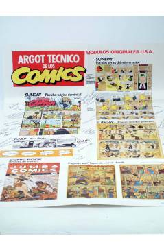 Muestra 2 de HISTORIA DE LOS COMICS FASCÍCULO 1. UN NUEVO ARTE (Vvaa) Toutain 1982. CON POSTER