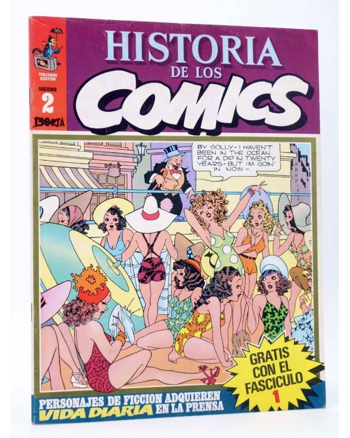 Cubierta de HISTORIA DE LOS COMICS FASCÍCULO 2. VIDA DIARIA (Vvaa) Toutain 1982