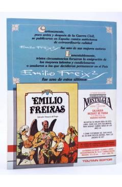 Contracubierta de HISTORIA DE LOS COMICS FASCÍCULO 5. TESTIMONIO SOCIAL (Vvaa) Toutain 1982