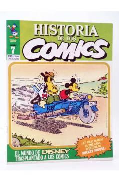 Cubierta de HISTORIA DE LOS COMICS FASCÍCULO 7. EL MUNDO DE DISNEY (Vvaa) Toutain 1982